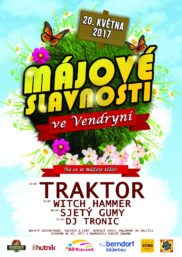 Plakát A2 - Májové slavnosti Vendryně (1)